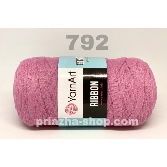 """пряжа yarnart ribbon 792 ( ярнарт риббон ): для вязания чехлов, пуфиков, плетения сумок, салфеток, рюкзаков, корзинок, модных клатчей, хлопковых пледов и ажурных ковриков - доставка по всей украине из интернет-магазина """"пряжа-shop"""" 3754 priazha-shop.com 2"""