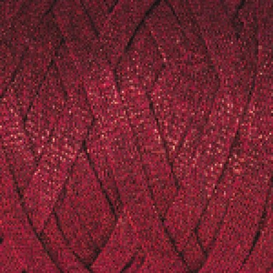 """пряжа yarnart ribbon lurex 739 ( ярнарт риббон люрекс ) для вязания чехлов, пуфиков, плетения сумок, салфеток, рюкзаков, корзинок, модных клатчей, хлопковых пледов и ажурных ковриков - доставка по всей украине из интернет-магазина """"пряжа-shop"""" 4586 priazha-shop.com 2"""