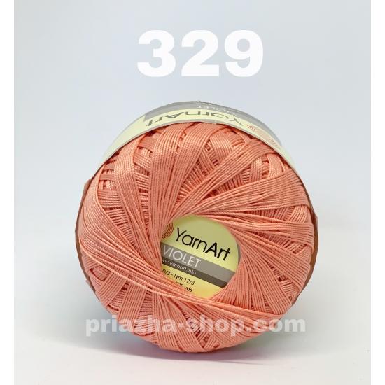 """пряжа yarnart violet 329 ( ярнарт виолет ) для вязания одежды взрослым и детям, ажурных изделий и аксессуаров всех цветов радуги - купить в украине в интернет-магазине """"пряжа-shop"""" 324 priazha-shop.com 2"""