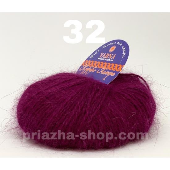 yarna puffo angora ( ярна пуффо ангора ) 32 2358 priazha-shop.com 2