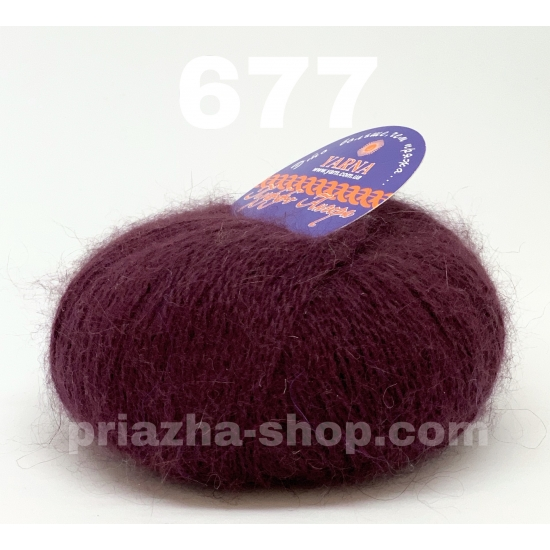 """пряжа yarna puffo angora 677 ( ярна пуффо ангора ) для вязания для шапок, варежек, шарфов, шалей, кардиганов, свитеров, кофт, лёгких и воздушных теплых аксессуаров- купить в украине в интернет-магазине """"пряжа-shop"""" 2357 priazha-shop.com 2"""
