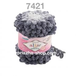 Alize Puffy Ombre Batik 7421