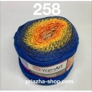 """пряжа yarnart flowers 265 ( ярнарт флауэрс ) для вязания бактуса, шали, платья, палантина на весну с широким выбором цветов - купить в украине в интернет-магазине """"пряжа-shop"""" 3788 priazha-shop.com 4"""