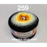 """пряжа yarnart flowers 265 ( ярнарт флауэрс ) для вязания бактуса, шали, платья, палантина на весну с широким выбором цветов - купить в украине в интернет-магазине """"пряжа-shop"""" 3788 priazha-shop.com 5"""