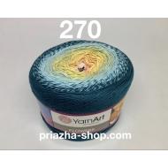 """пряжа yarnart flowers 265 ( ярнарт флауэрс ) для вязания бактуса, шали, платья, палантина на весну с широким выбором цветов - купить в украине в интернет-магазине """"пряжа-shop"""" 3788 priazha-shop.com 11"""