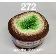 """пряжа yarnart flowers 265 ( ярнарт флауэрс ) для вязания бактуса, шали, платья, палантина на весну с широким выбором цветов - купить в украине в интернет-магазине """"пряжа-shop"""" 3788 priazha-shop.com 12"""
